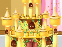 Schokoladen Burg Torte