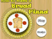 Brotpizza Zubereiten